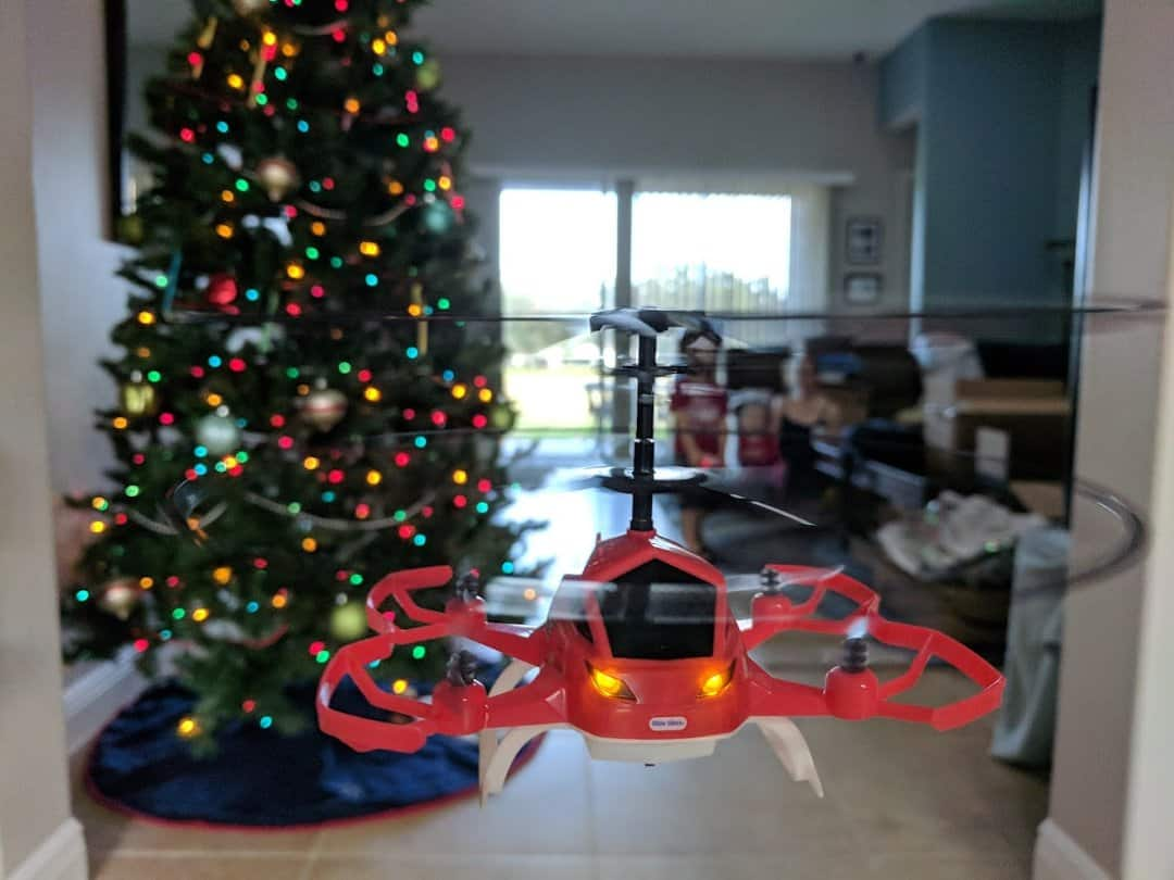 Little Tykes My first drone Up close
